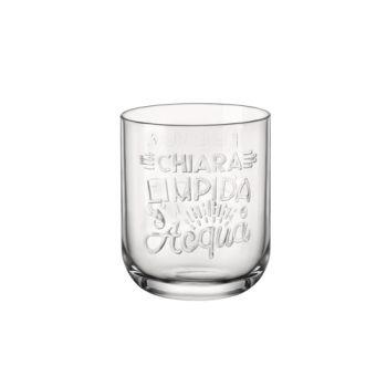 Bormioli Graphica Wasserglas 39,5cl D8,2xh10cm