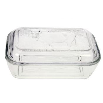 Luminarc Butter Pot Cow Glass