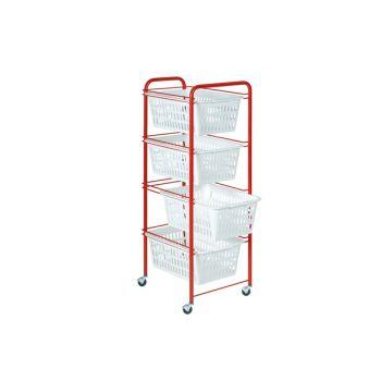 Artex Sienna Stroller W/ 4 Baskets 3 Types