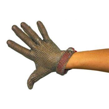 Arcos Protective Glove Medium Metal Red