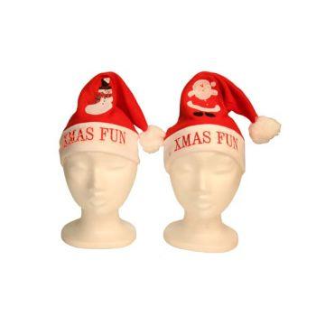 Cosy @ Home Weihnachtshut Xmas Fun Mit Lichte 2 Types
