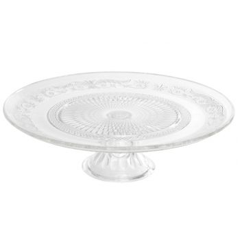 Cosy & Trendy Retro Cake Plate On Foot Glass D33xh10cm