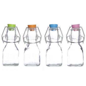 Cosy & Trendy Milkflasche M. Gefarbt Dopf Set12 4 Types