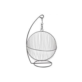 Cosy & Trendy Hanging Fruit Basket Black 25x30xh40.5