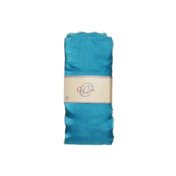 Cosy @ Home Decostof Organza 1.5x3m Turquoise