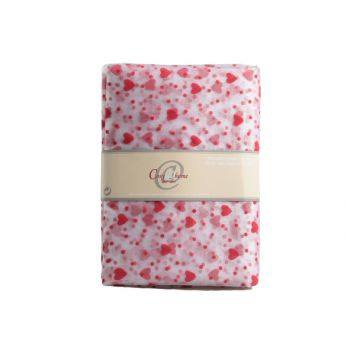 Cosy @ Home Decoration Tissue Organza Red Hearts