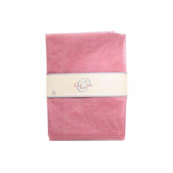 Cosy @ Home Dekorationstoff Organza - Prune-