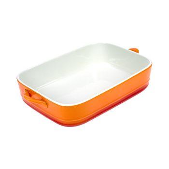 Cosy & Trendy Orange GratinschÜssel Rechteckig