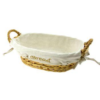 """Cosy & Trendy Korb Oval """"""""bread"""""""" 20x29xh8.5cm - Types"""