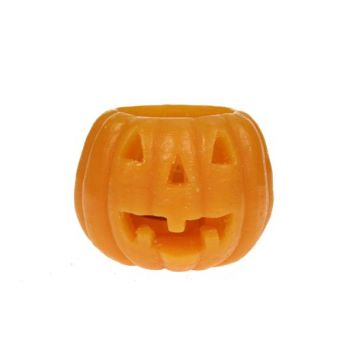 Cosy @ Home Candle Pumpkin 9,5x9,5x7,2cm Orange
