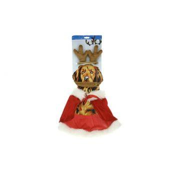 Cosy @ Home Weihnachtskostum Fur Hunde Geweih+cape