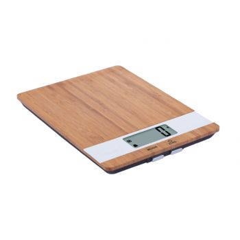 Cosy & Trendy Kitchen Scale Bamboo White Ielectr. Cap.