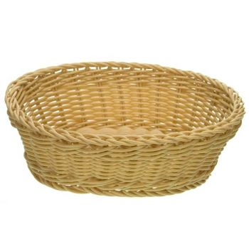 Cosy & Trendy For Professionals Ct Prof Basket Natural 25x20xh7,5cm Oval