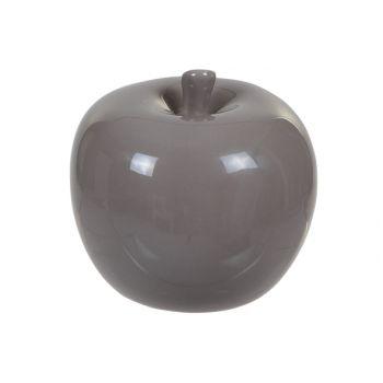 Cosy @ Home Appel Ceramic Grey-brown 7.7x7.7x7.3cm