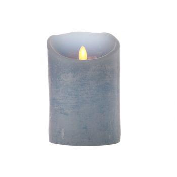 Cosy @ Home Cylinder Kerze Led Blau D10xh15cm