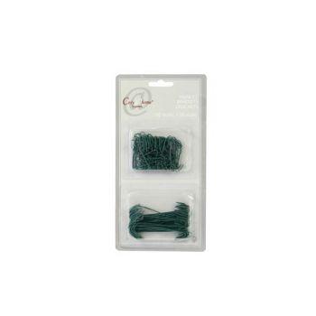 Cosy @ Home Hooks  50xgiant+100xregular Green