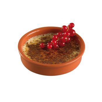 Cosy & Trendy Cream Brulee Dish Set4 D13,5xh3.3cm Terr