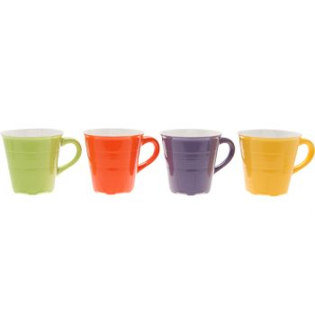 Cosy & Trendy Cup 23cl D23xh8,5cm Set 4 Types