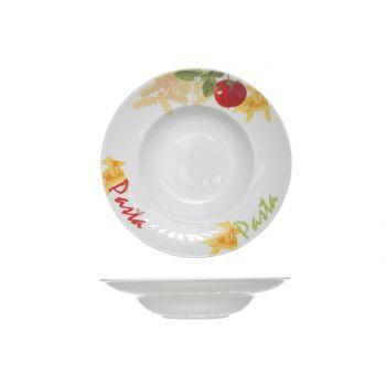 Cosy & Trendy Pasta Plate D17-27,5xh6cm Deco Pasta