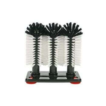 Cosy & Trendy For Professionals Beer Brush With 3 Brushes H19x18x10cm