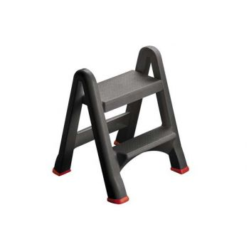 Curver Foldable Step Anthracite 48.6x17.2