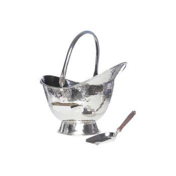 Cosy & Trendy Fire Bucket Brass W. Shovel 44x31xh33cm