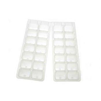 Cosy & Trendy EiswÜrfelhalter Set2 Plastic Weiss