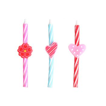 Cosy & Trendy For Kids Mini Candle Love Set6 2x3ass