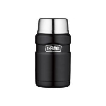 Thermos King Food Jar  Xl Schwarz Mat 710ml