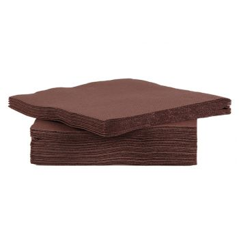 Cosy & Trendy For Professionals Ct Prof Serviette Tt S40 25x25 Schokolad