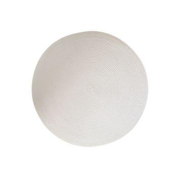 Cosy & Trendy Placemat Rond Wit D36cm