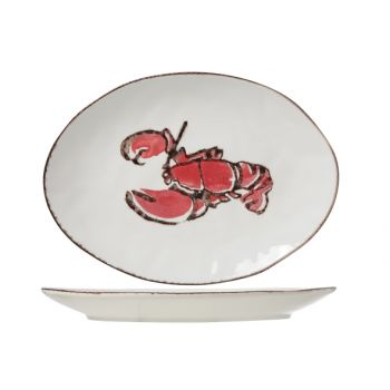Cosy & Trendy Lobster Oval Plate 37x27cm