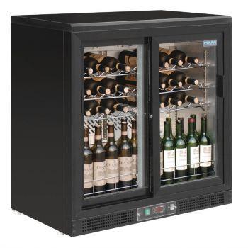 Polar G-serie horizontale wijnkoeling met schuifdeuren