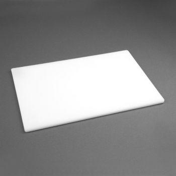 Hygiplas LDPE snijplank wit 30.5x22.9x1.2cm