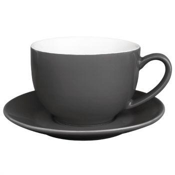 Olympia Café cappuccinokoppen grijs 34cl