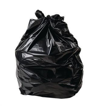 Jantex grote standaard kwaliteit vuilniszakken zwart