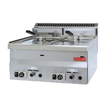 Gastro M 600 gas friteuse 2x 8L 60/60 FRG