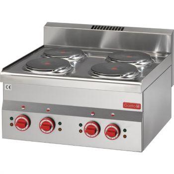 Gastro M 600 elektrische kookplaat 60/60 PCE