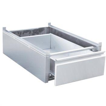Gastro M RVS lade voor onderbouw 45x58x18cm