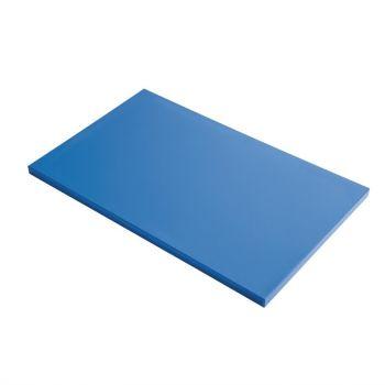 Gastro M GN1/2 HDPE snijplank glad blauw