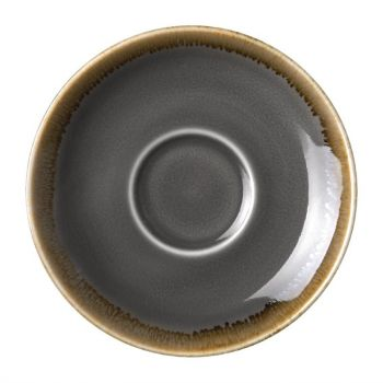 Olympia Kiln espressoschotels grijs 11.5cm