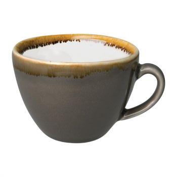 Olympia Kiln cappuccinokopjes grijs 23cl