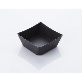 Platz Bowl Von Bambu 12x5cm Dunkel grau