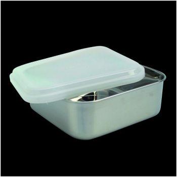 Kitchen quadratische Vorratdose mit Plastikdeckel 65030 11,5cm