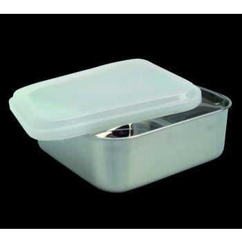 Kitchen quadratische Vorratdose mit Plastikdeckel 65031 13,5cm
