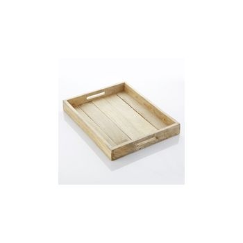 Point-Virgule PV-LIV-4015 Tray with Handles Mango Wood