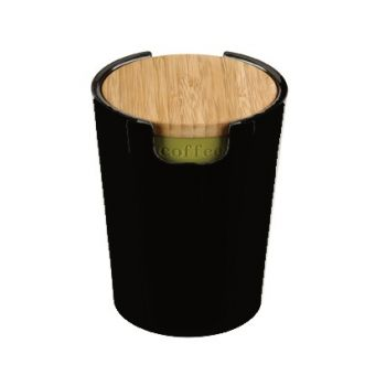 Typhoon Vorratsbehälter Bambus S Schwarz