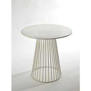 Antonino Sciortino B7210157 Serax Bistrot Table GARBO40 Round D40 White