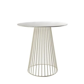 Antonino Sciortino B7210158 Serax Bistrot Table GARBO50 Round D50 White