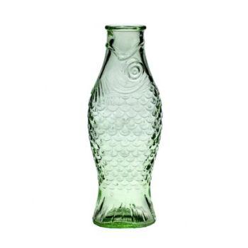 Paola Navone Flasche 1 Liter B0816757 Weiss Grün D10,6xH29cm